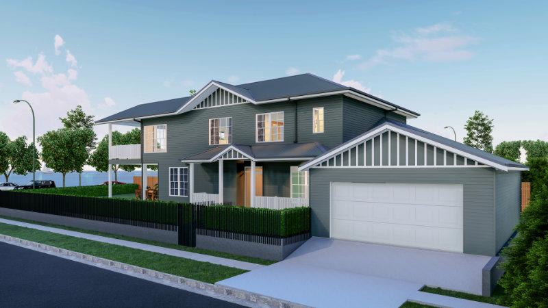 Draft Render - Waterfront House