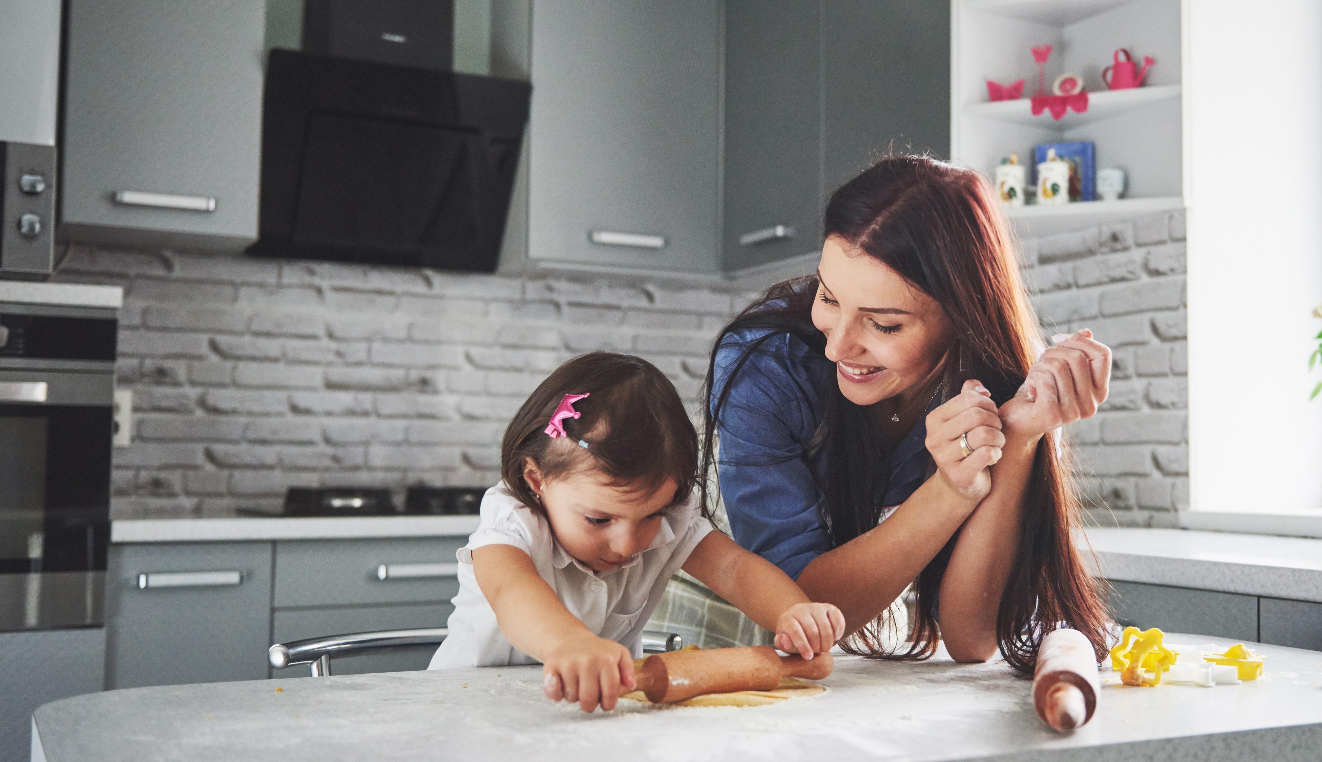 Design your kitchen to make it kid-friendly