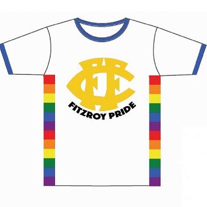 Fitzroy Pride T Shirt