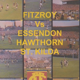 DVD 15 minutes of Fitzroy VFL games (in colour)