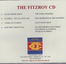 The Fitzroy CD (inc club song)