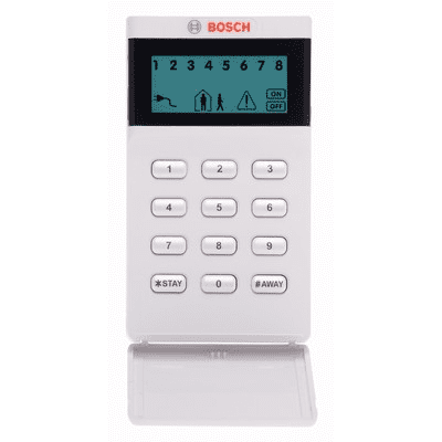 Bosch alarm keypad