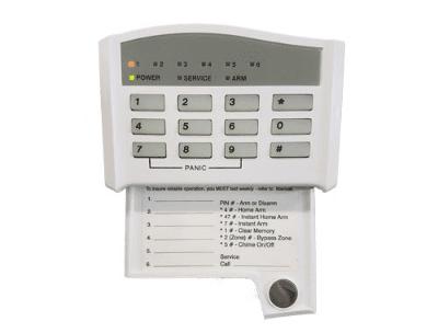 C&K alarm system keypad