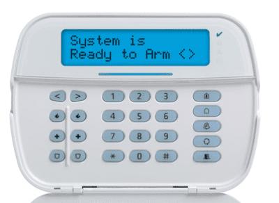 DSC alarm keypad