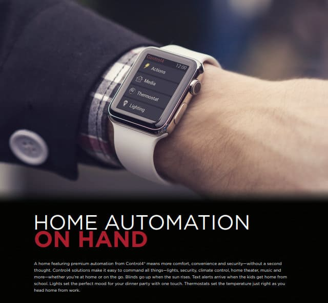 Home Automation Control4