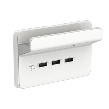 Clipsal USB Charger with shelf