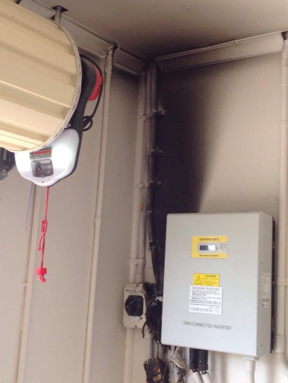 Burnt Solar Isolator