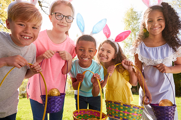 Kick off the school holidays with this fun Easter bucket list