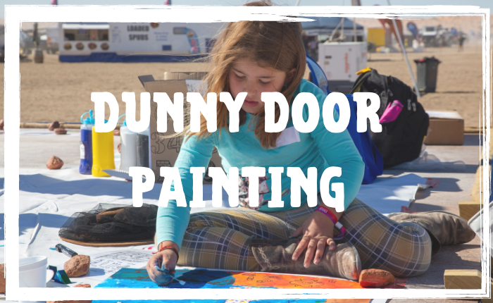 Dunny Door Painting