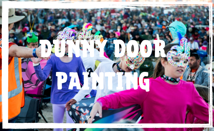 Dunny Door Painting