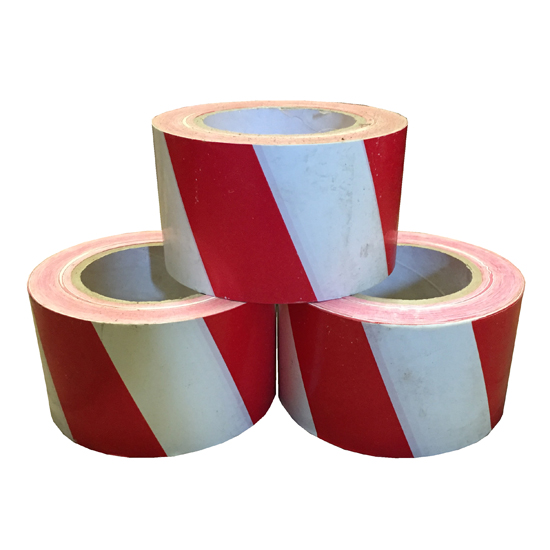Red/White Safety Tape