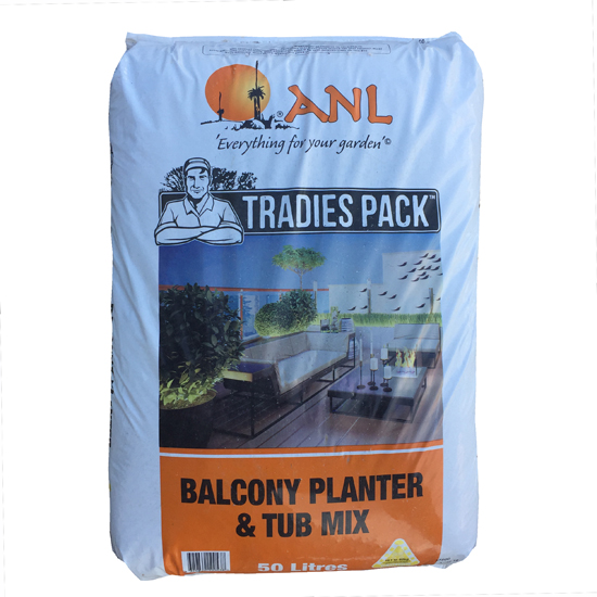 Balcony Planter & Tub Mix 50L