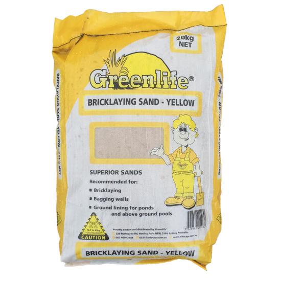 Brick Laying Sand-Yellow 20kg