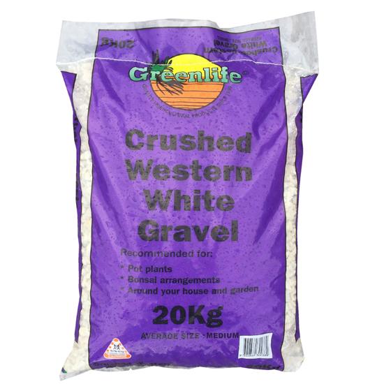 Crushed White Medium 20kg