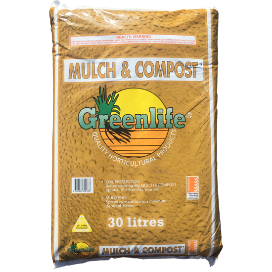 Greenlife© Mulch and Compost 30L