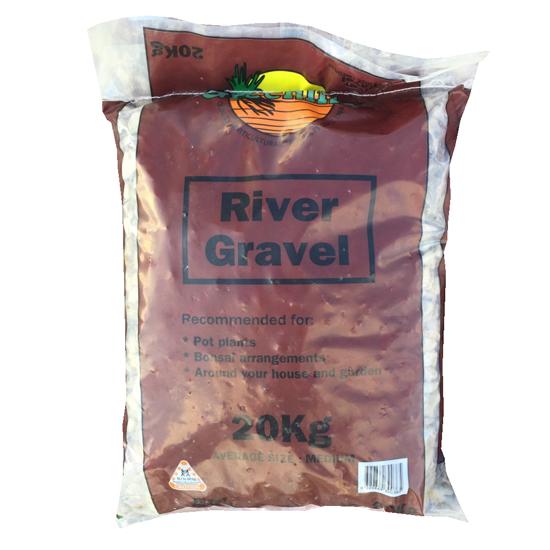 River Gravel Medium 20kg