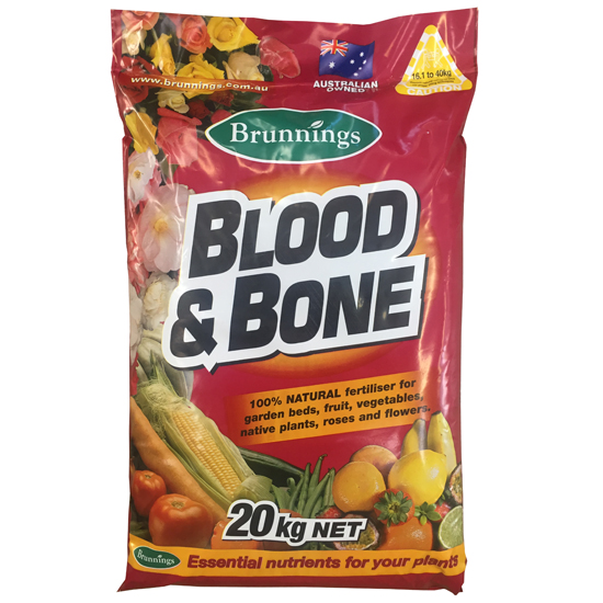 Blood & Bone Fertiliser 20kg
