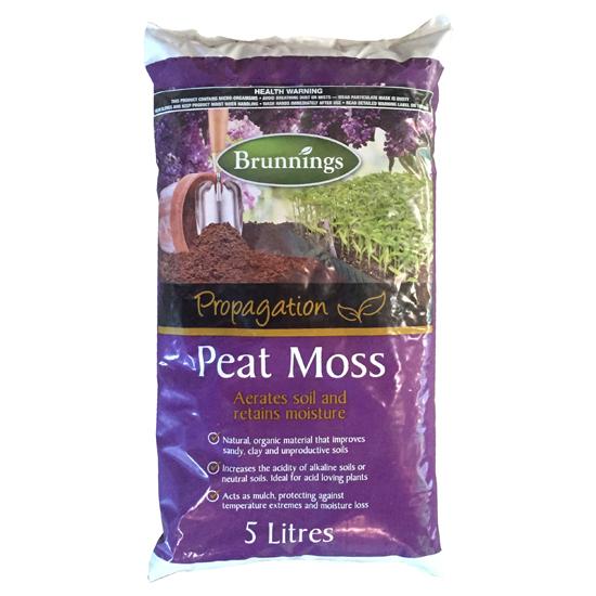 Peat Moss 5 Litre