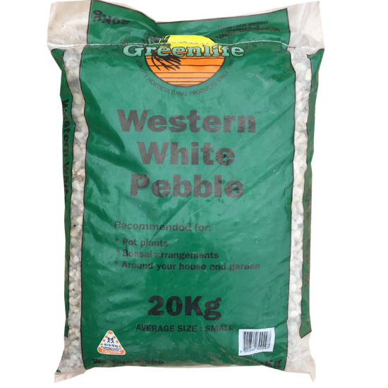 Western White Pebble Small 20kg