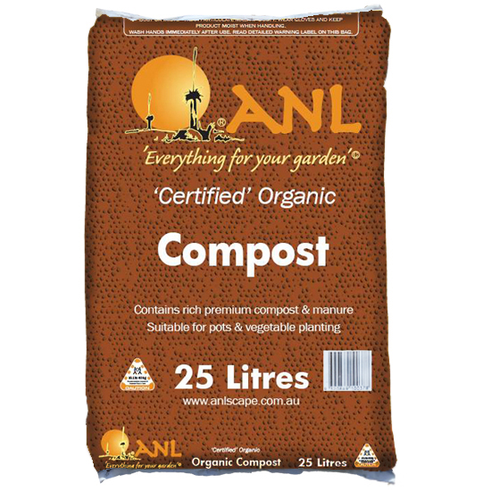 Certified Organic Compost 25 L