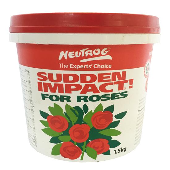 Sudden Impact For Roses 1.5kg