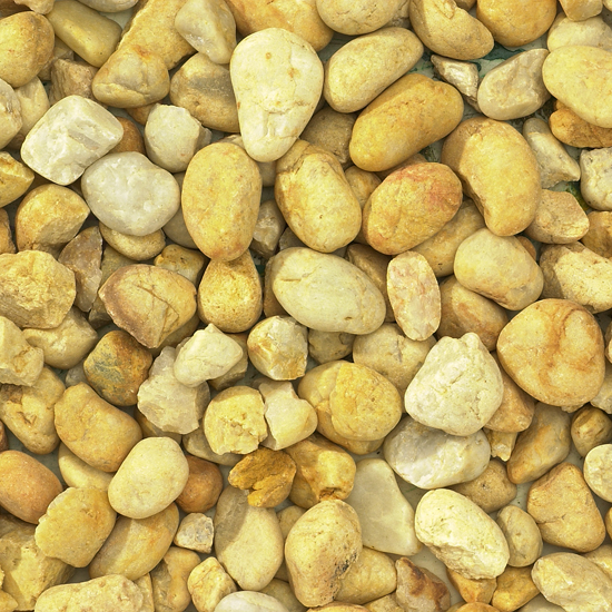 Western Gold Pebble 20mm