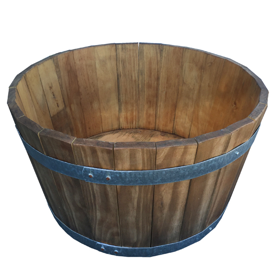 New Half Wine Barrel