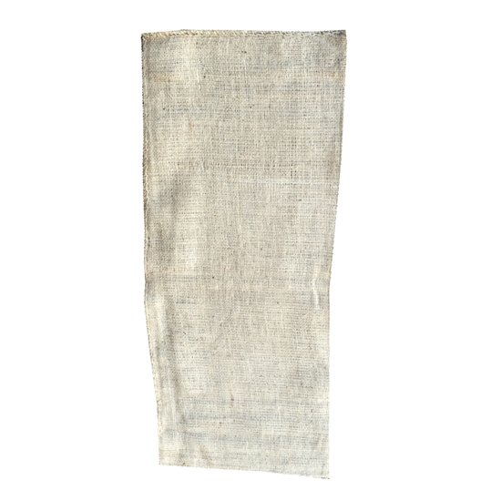 Hessian Bag with Tie