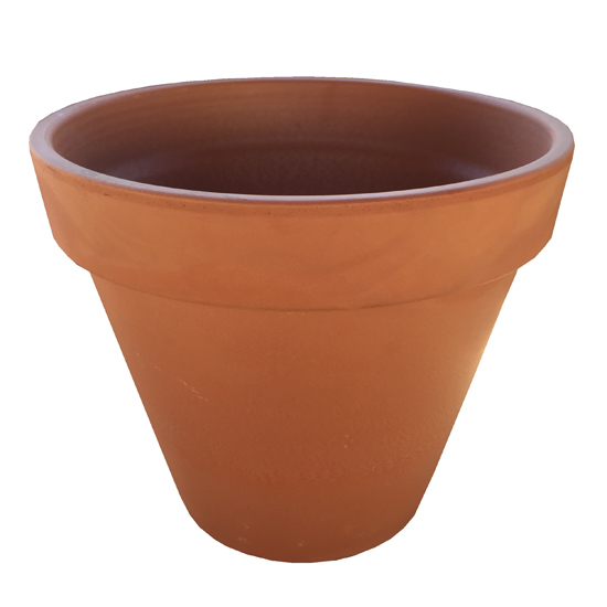Italian Plain Garden Pot 12cm
