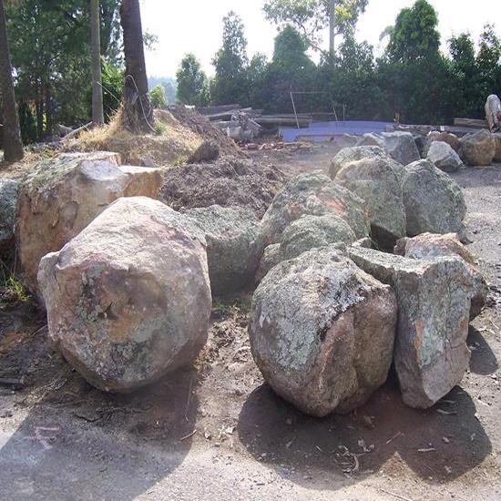 Granite Bush Rock