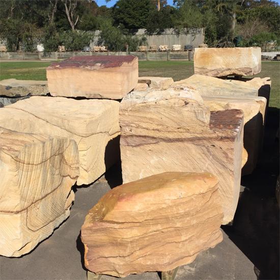 Sandstone Feature Boulders