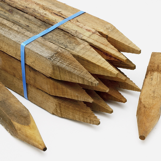 Hardwood Peg 600mm x 50mm x 50mm