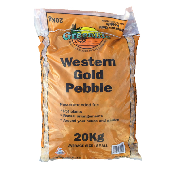 Western Gold Pebble Small 20kg