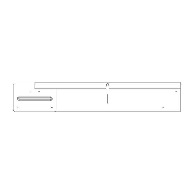 100mm Straightcurve Corner WS Flexline