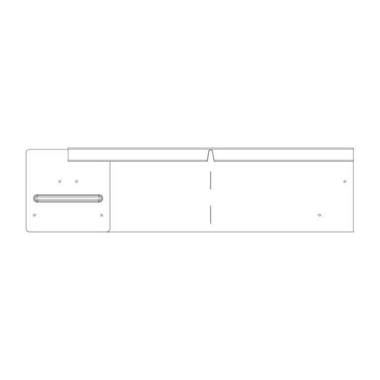 150mm Straightcurve Corner WS Flexline