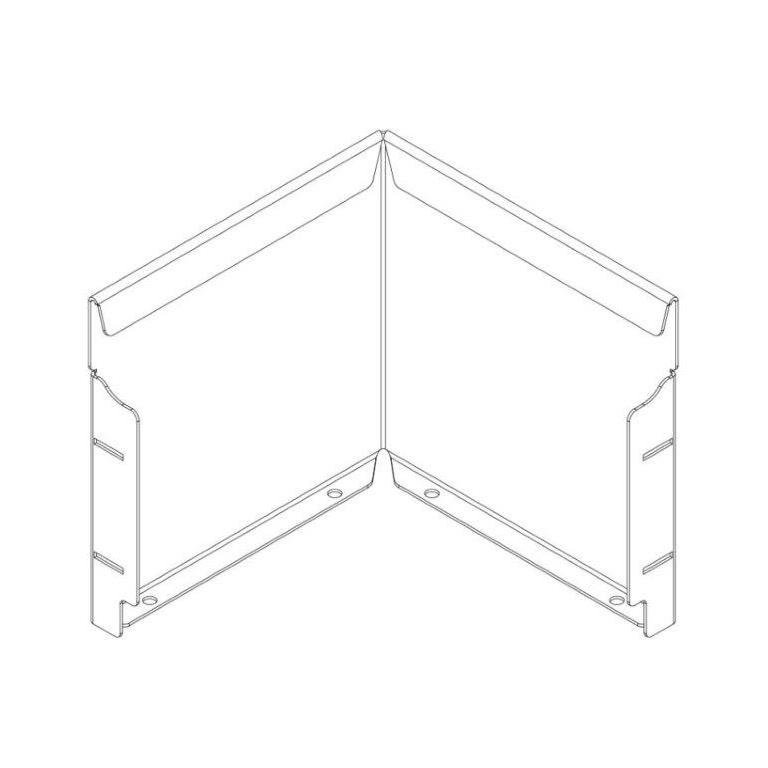 240mm Straightcurve Corner WS Flexline