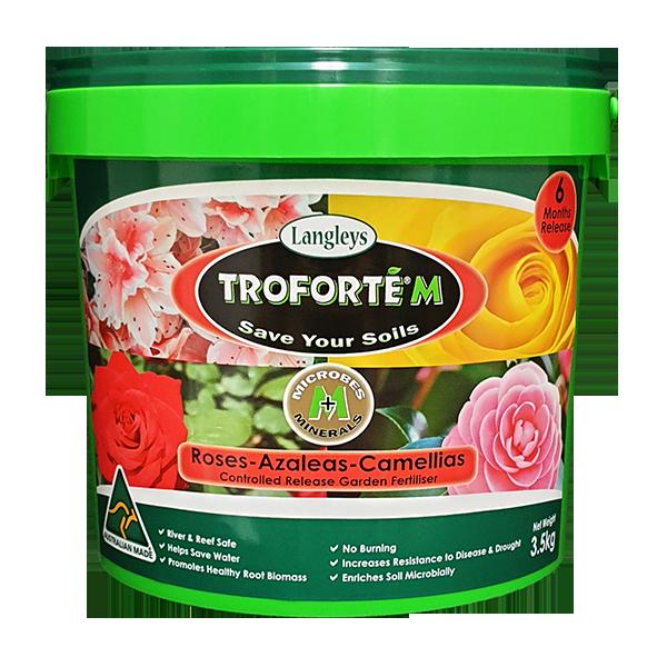 Troforte M Roses, Azaleas & Camellias 3.5kg