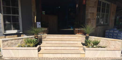 How to Build Sandstone Steps