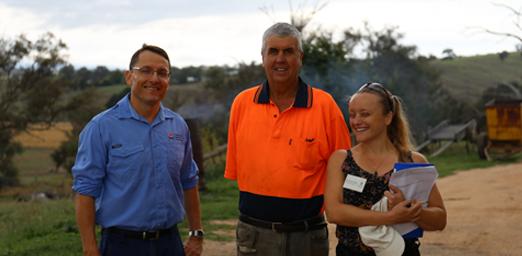 Bathurst farmer on ANL compost