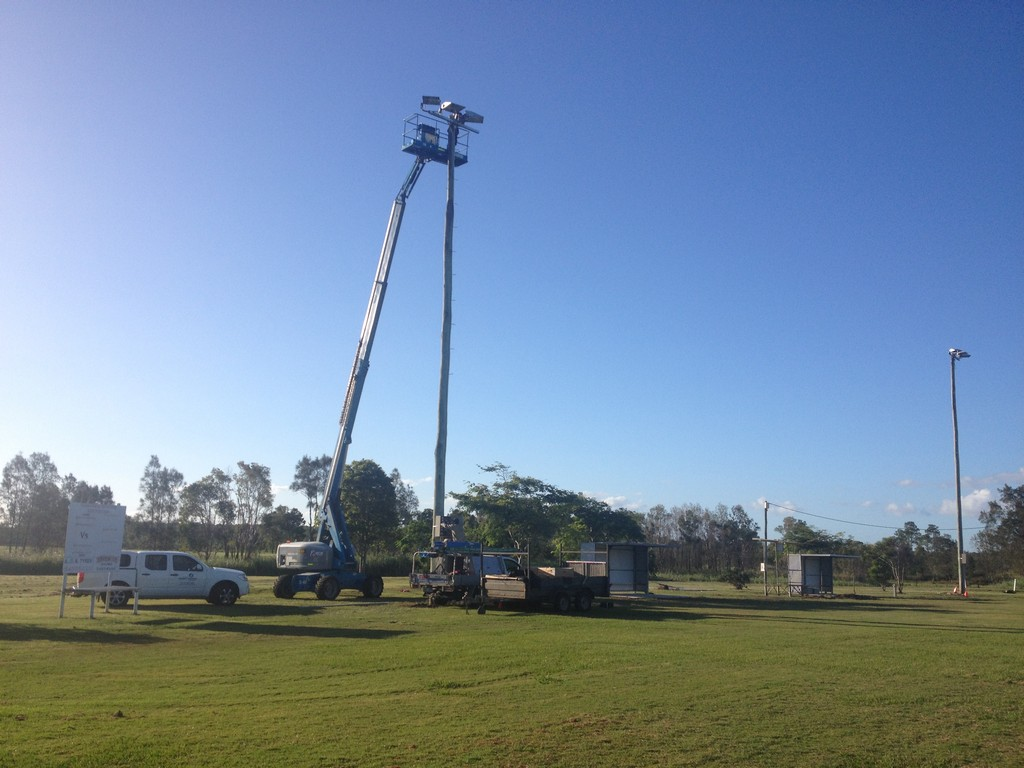 Australian Sports Lighting Solutions | Beachmere Rugby League Club