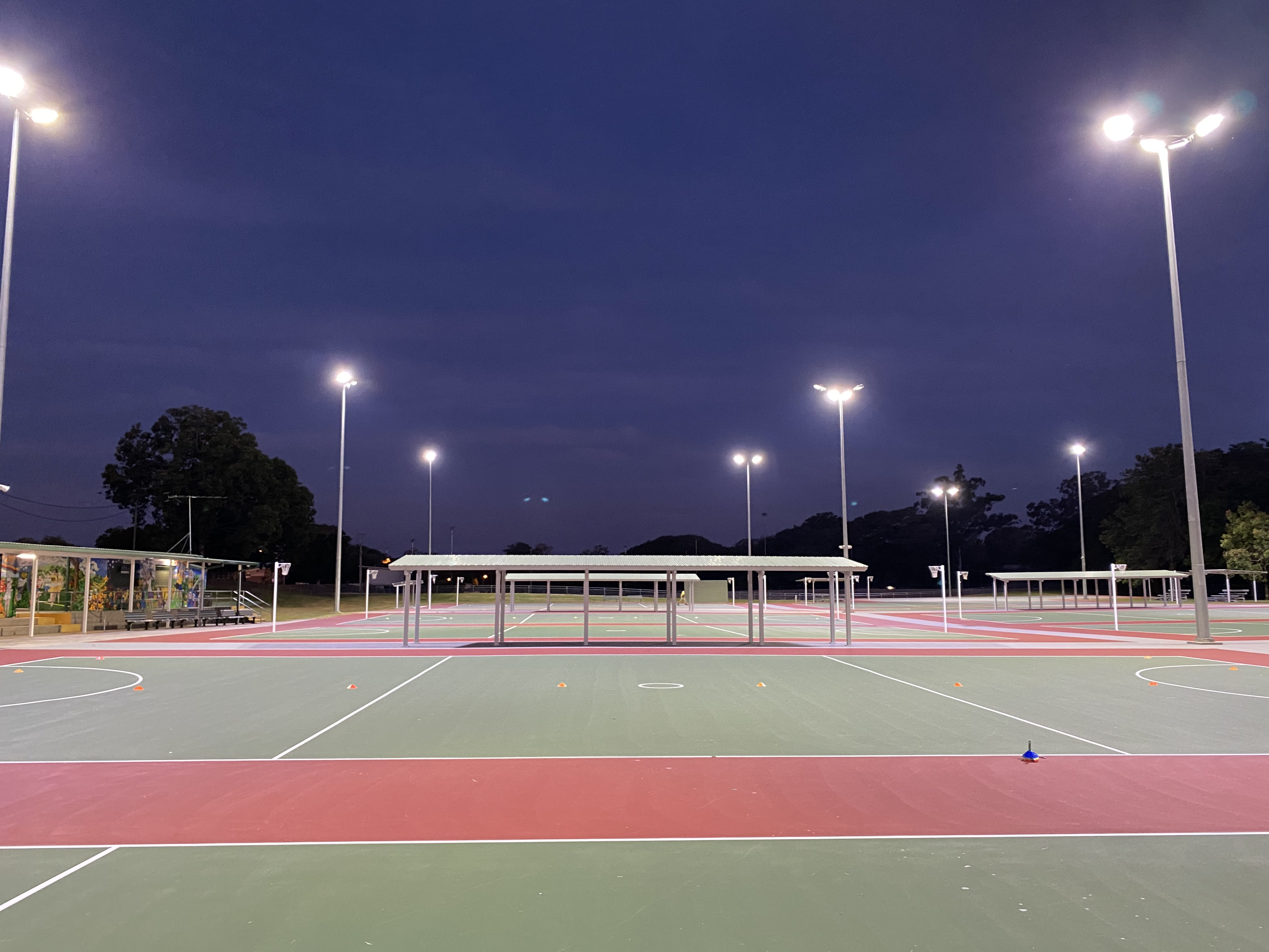Australian Sports Lighting Solutions | Caboolture Netball Club – LED Lighting