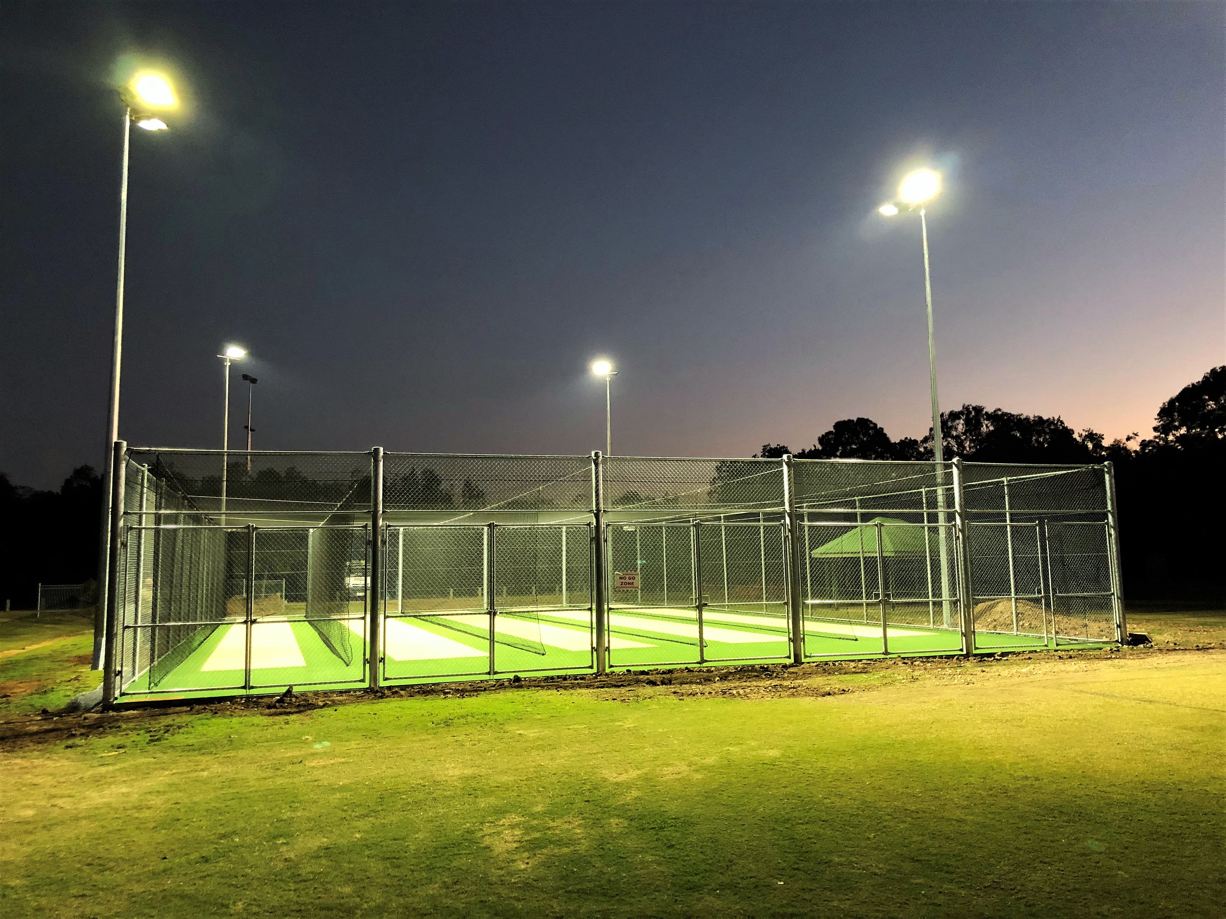 Australian Sports Lighting Solutions | Cleveland Thornlands Cricket Club – LED Installation