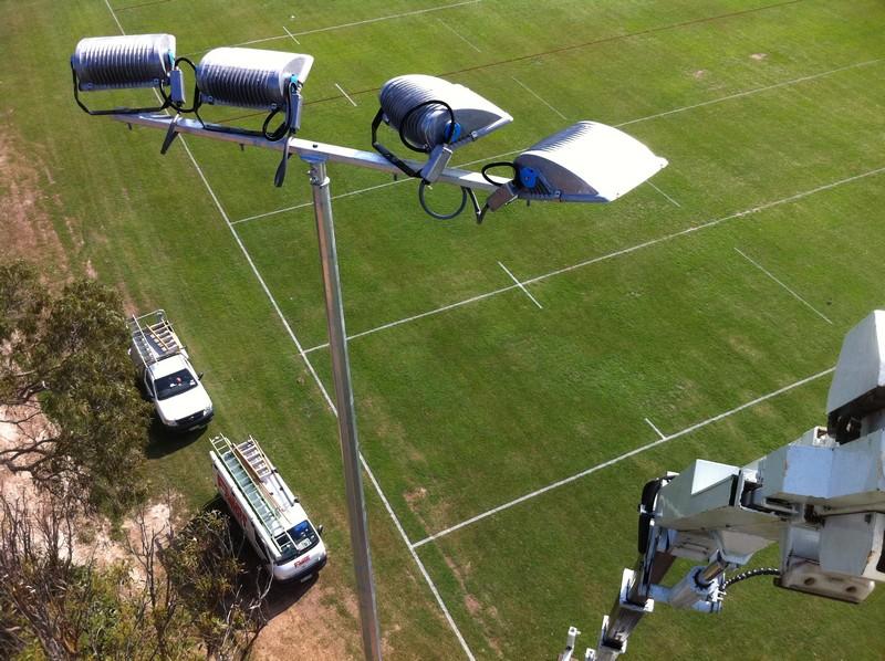Australian Sports Lighting Solutions | Deception Bay Sporting Complex