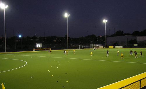Australian Sports Lighting Solutions | Easts Hockey Club Lighting
