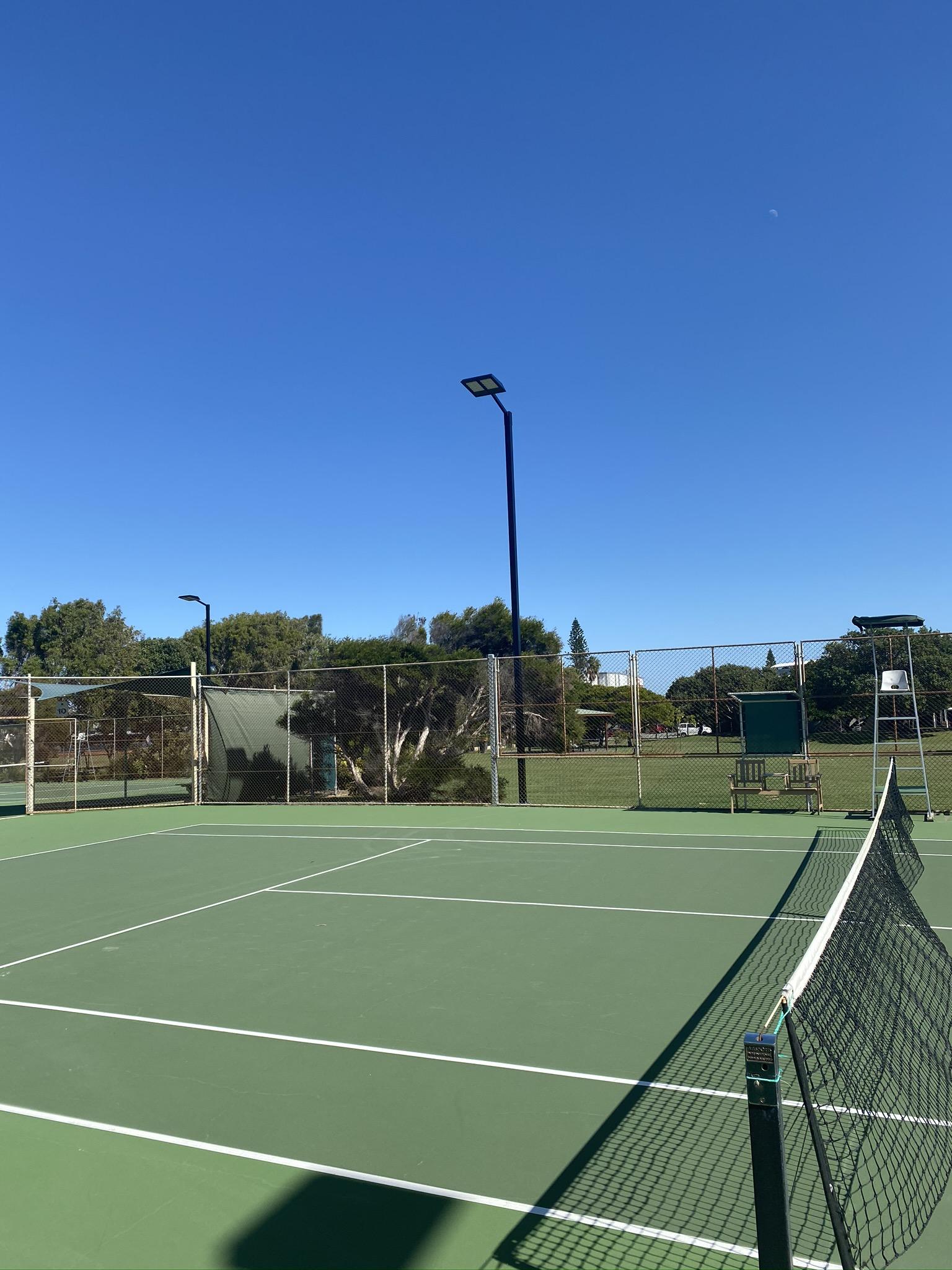 Australian Sports Lighting Solutions | Kawana Tennis Club – LED Lighting