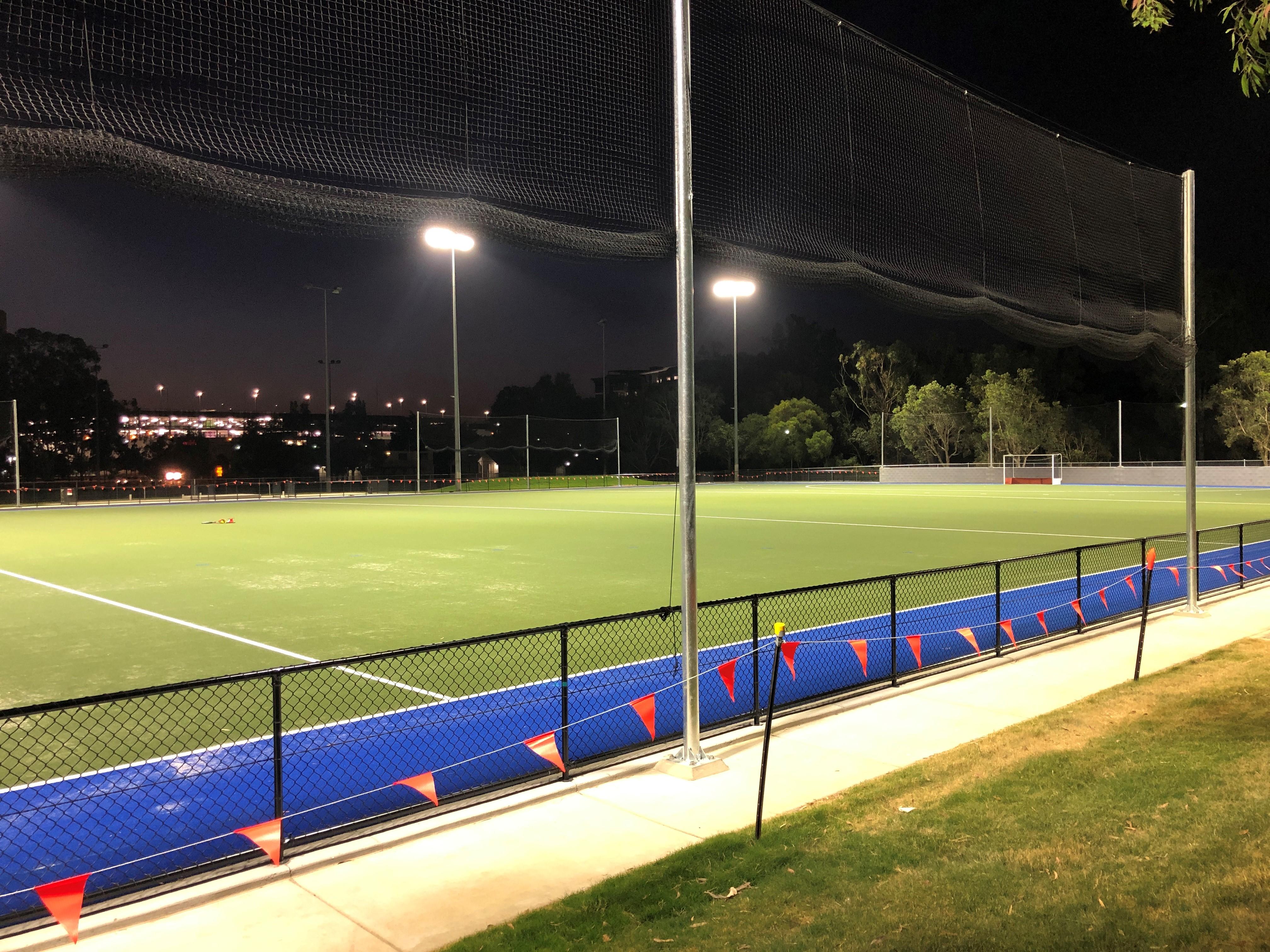 Australian Sports Lighting Solutions | Kedron Wavell Hockey Services Club – HID TV Future upgrade
