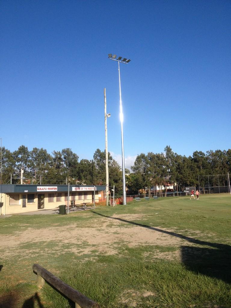 Australian Sports Lighting Solutions | Moorooka AFL Club