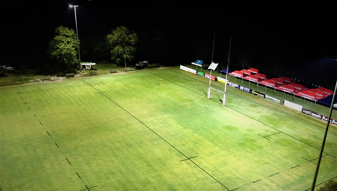 Australian Sports Lighting Solutions | Noosa Dolphins Rugby Club