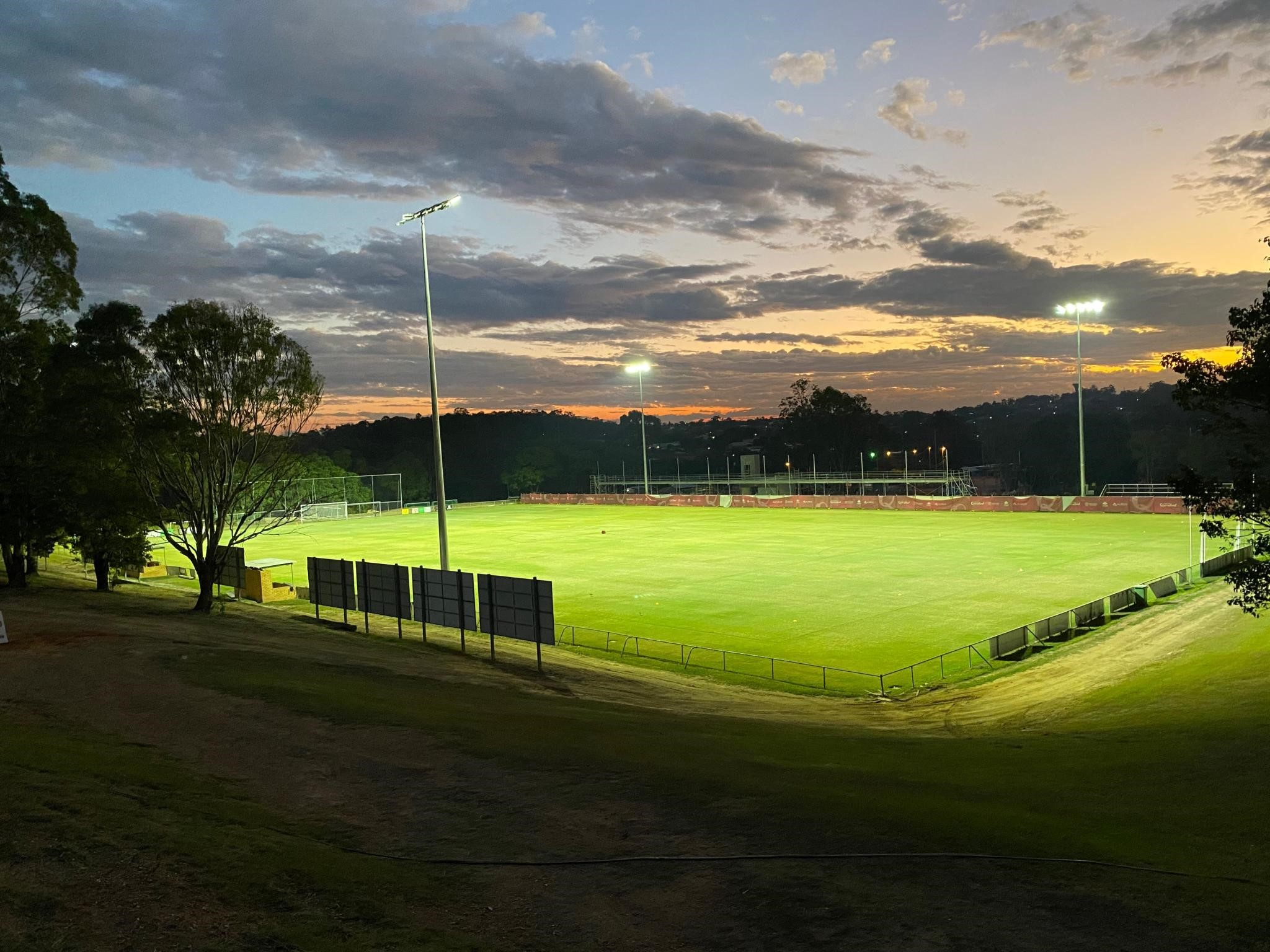 Australian Sports Lighting Solutions | Rochedale Rovers Football Club – LED Upgrade
