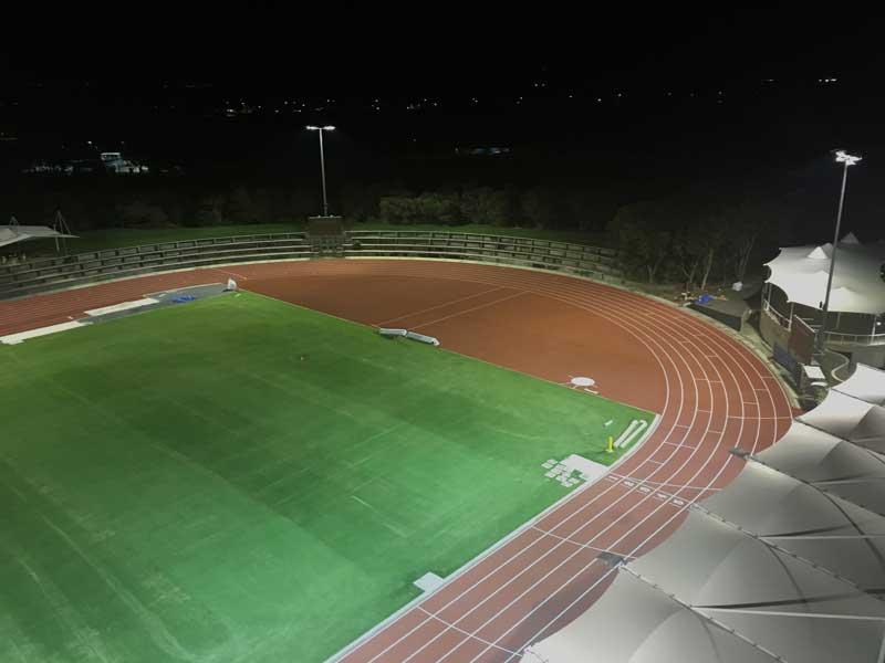 Australian Sports Lighting Solutions | Runaway Bay Sports Super Centre